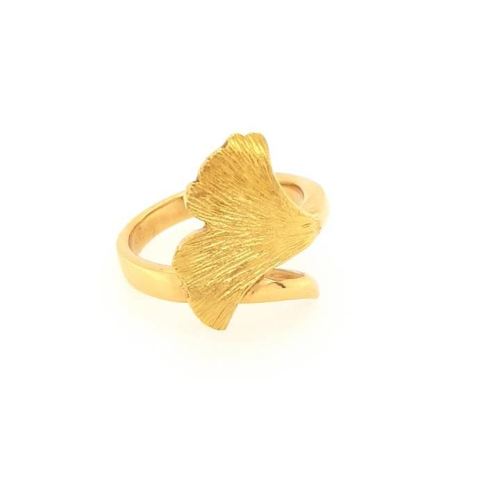 Ginkgo Ring Gold 585 Nr. 41-585