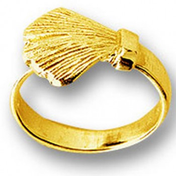 Ginkgo Ring Gold 585