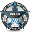 Deutschlands Bestes Web 2012