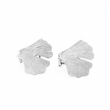Ginkgo Clipstecker Sterlingsilber 925 Nr. 43-925