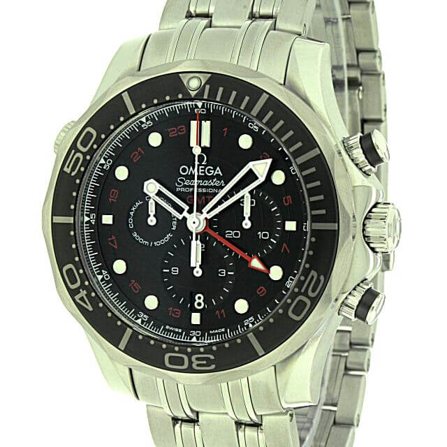 Omega Seamaster Diver 300M Co-Axial GMT Chronograph 44mm 212.30.44.52.01.001