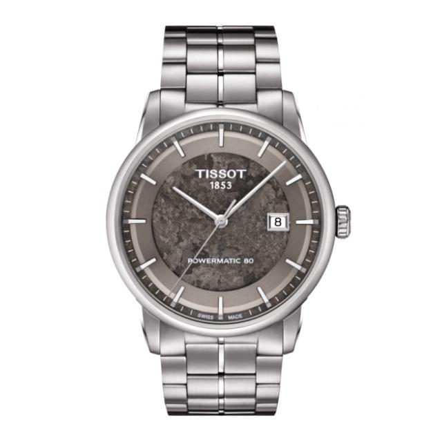 Tissot Luxury Jungfraubahn Uhr aus Edelstahl mit Metallarmband