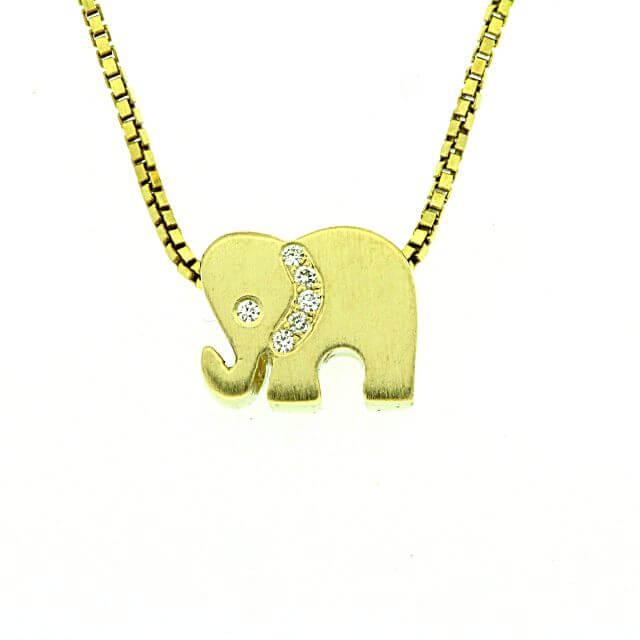 Anhänger Elefant klein H2-11