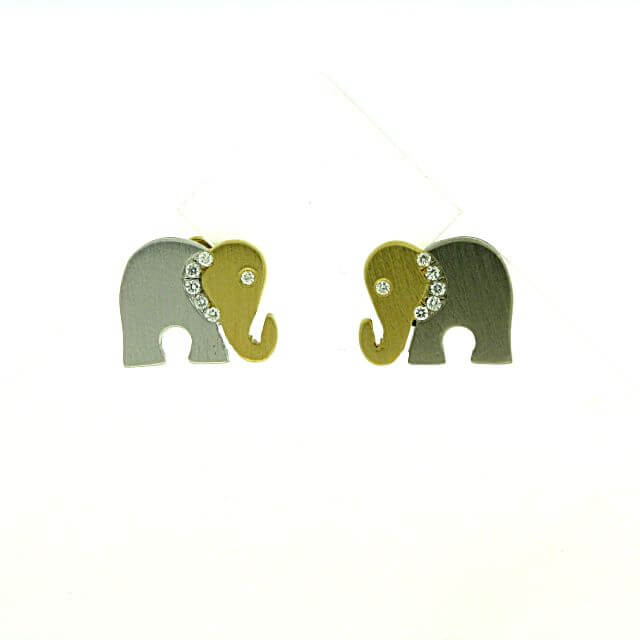Ohrstecker Elefanten O2-10