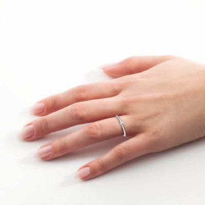 Verlobungsring 6-Krappe 0,10ct. OE4223