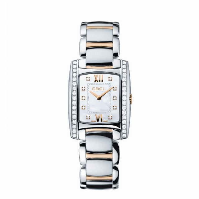 Ebel Brasilia Uhr aus Edelstahl mit Metallarmband