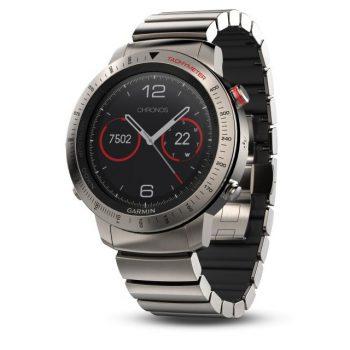 Garmin fenix Chronos mit Hybrid-Titan-Armband 010-01957-01