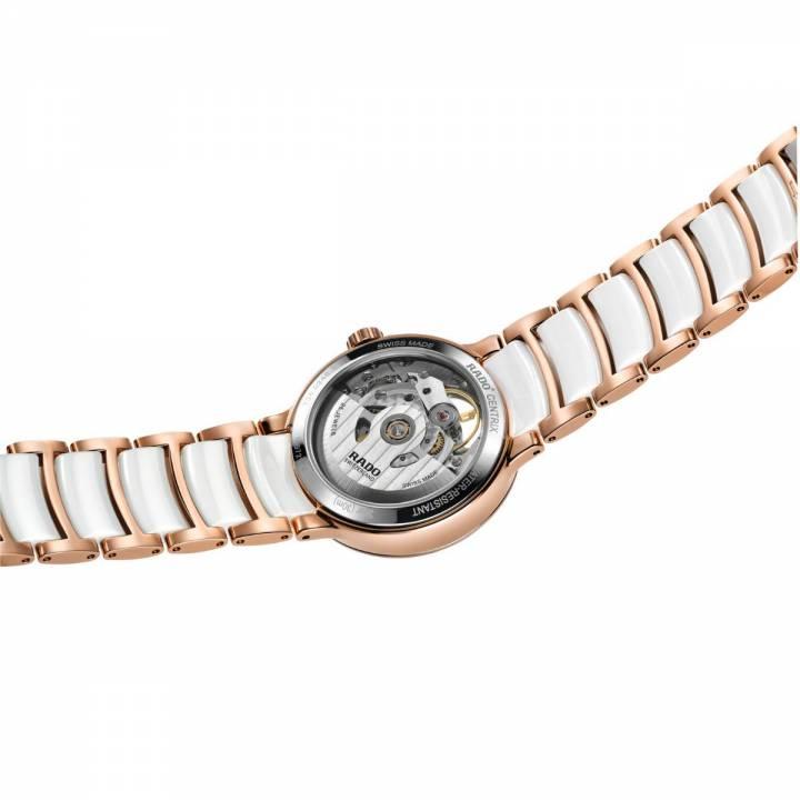 Rado Centrix Automatic Diamonds Open Heart (R30248902) Damenuhr hinten