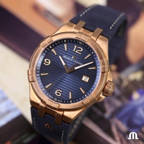 Maurice Lacroix Aikon Date Limited Edition AI1028-BRZ01-420-1(1)