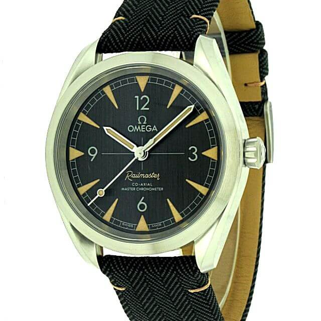 Omega Seamaster Railmaster Co-Axial Master Chronometer 40mm 220.12.40.20.01.001