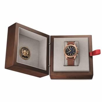 Oris Divers Carl Brashear Chronograph (01 771 7744 3185-Set LS) Herrenuhr Box