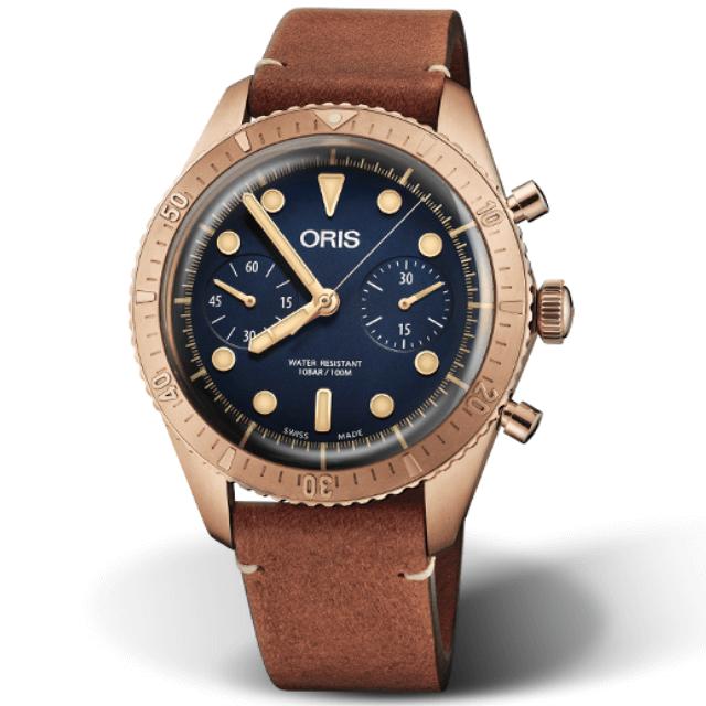 Oris Divers Carl Brashear Chronograph 01 771 7744 3185-Set LS