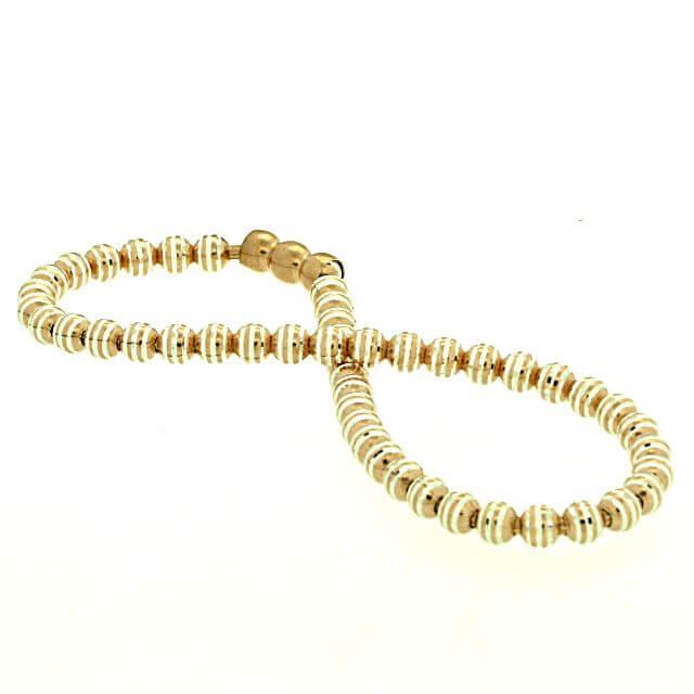 Armband Silber rosévergoldet OE373867r