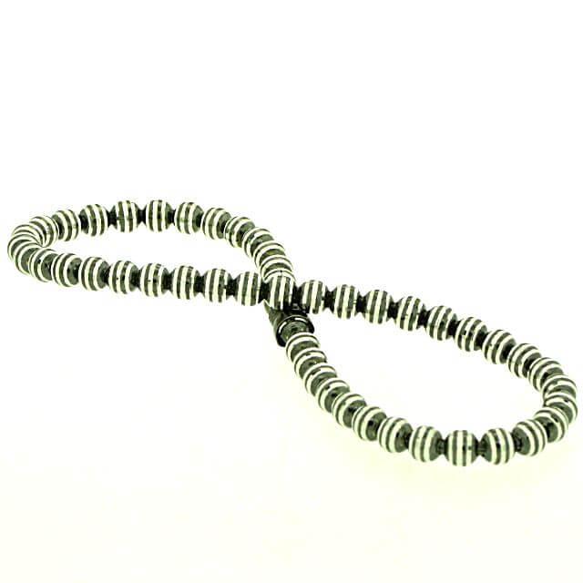 Armband Silber rutheniert OE373867ru