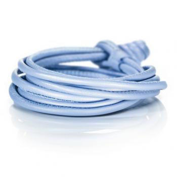 Capolavoro Lederband 4-reihig cobaltblau
