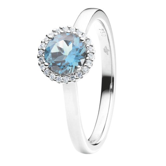 Capolavoro Ring Espressivo Blau Topas RI8T02395