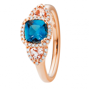 Capolavoro Ring Espressivo London Blue Topas Morganit RI9TOL02660.MOG