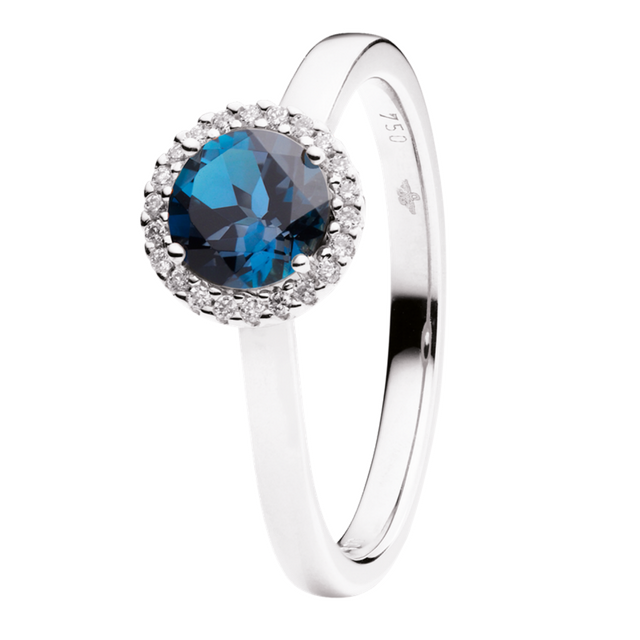 Capolavoro Ring Espressivo London Blue Topas RI8LT2395