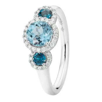 Capolavoro Ring Espressivo Topas Diamant RI8TOA02658.TOL