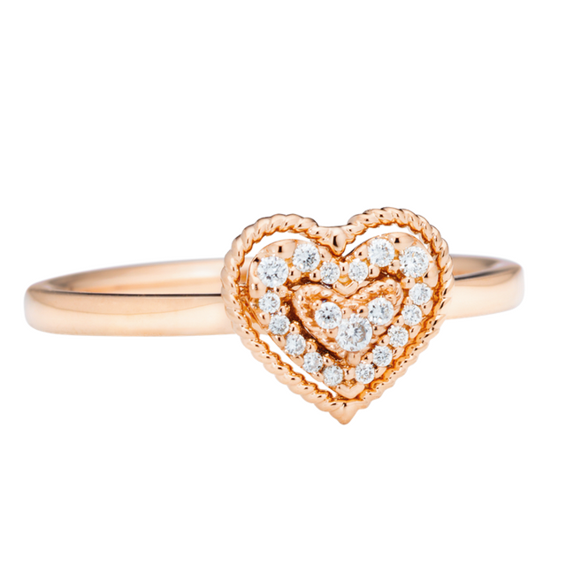 Capolavoro Ring Herz Valentine RI9BRW02632