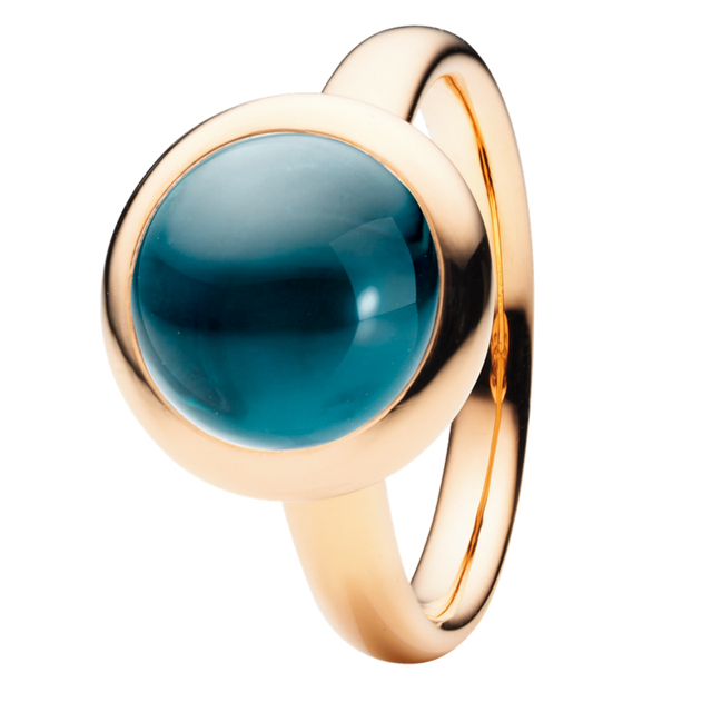 Capolavoro Ring Velluto London Blue Topas RI9TOL02559