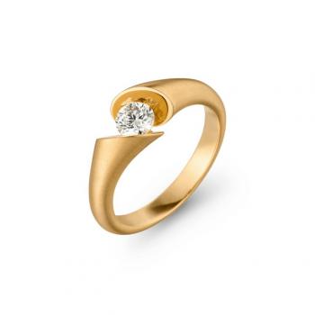 Schaffrath Ring Calla 0,40ct Gelbgold