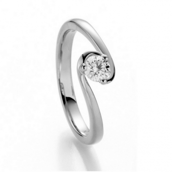 Brillantring Joy 0,15ct. Weißgold