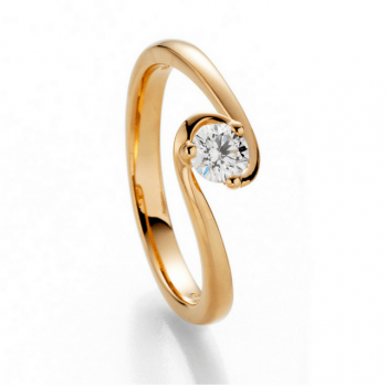 Brillantring Joy 0,30ct Roségold
