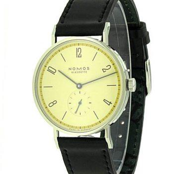 Nomos Tangente 38 gelb - Bauhaus Edition 165.S3