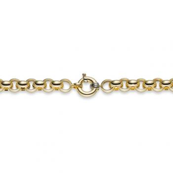 Armband Erbsgeflecht Gelbgold 20 cm
