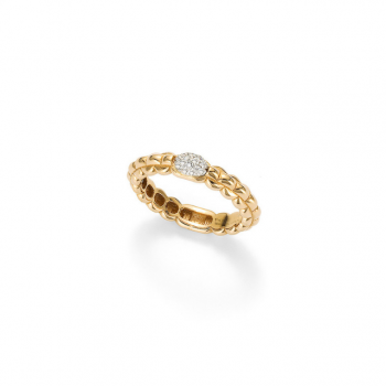 FOPE Ring EKA Tiny AN730 PAVE