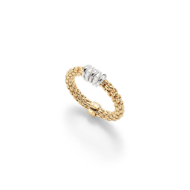FOPE Ring Prima AN746 BBR gelb