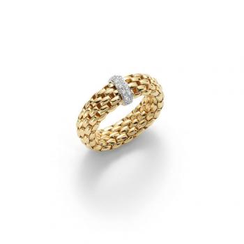 FOPE Ring Vendôme AN559 BBR gelb