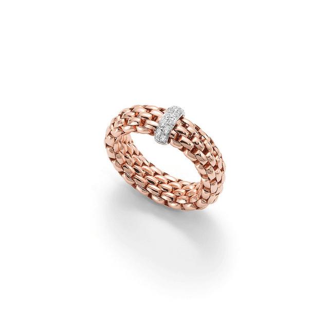 FOPE Ring Vendôme AN559 BBR rosé