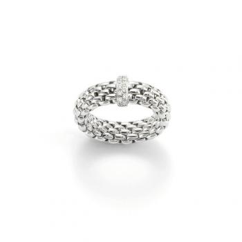 FOPE Ring Vendôme AN559 BBR weiß