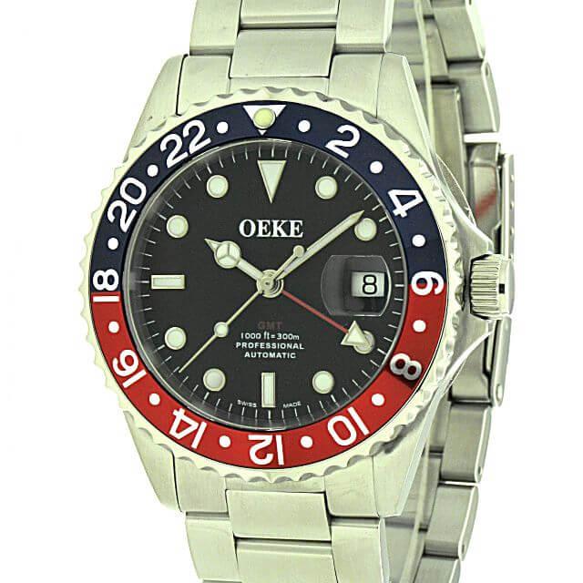 OEKE Shark GMT blau-rot 300