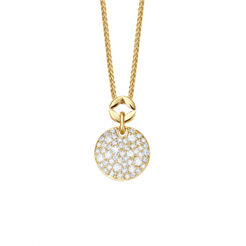 Brillantcollier Bella 0,50 ct Gelbgold