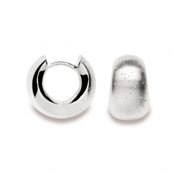 Bastian Creolen Silber diamantiert 11812