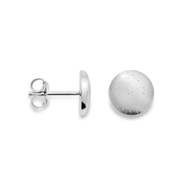 Bastian Ohrstecker Silber diamantiert 12039