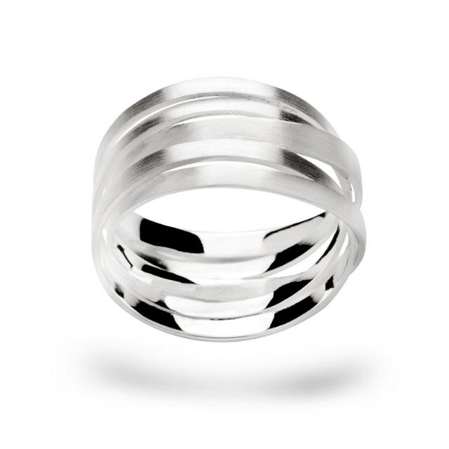 Bastian Ring Silber mattiert 12183