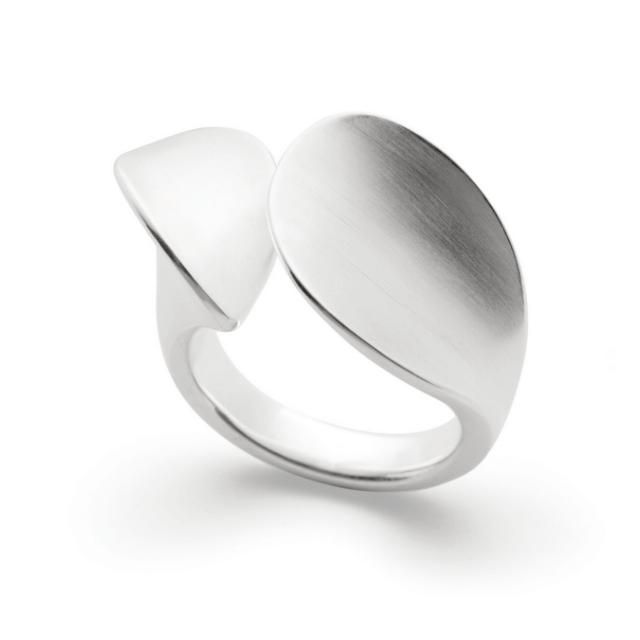Bastian Ring Silber mattiert 12766
