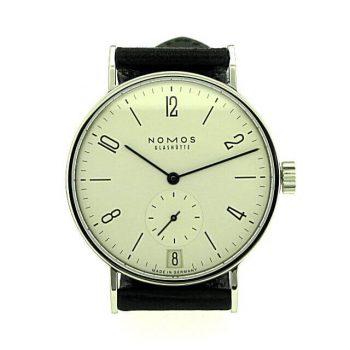 Nomos Tangomat Datum 602 Vintage Uhr