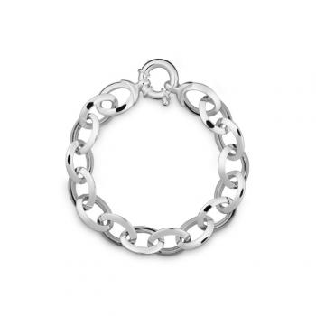 Silber Armband Anker 19 cm