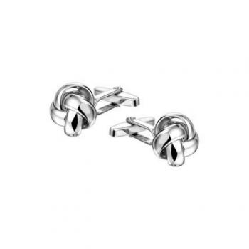 Silber Manschettenknöpfe Knoten