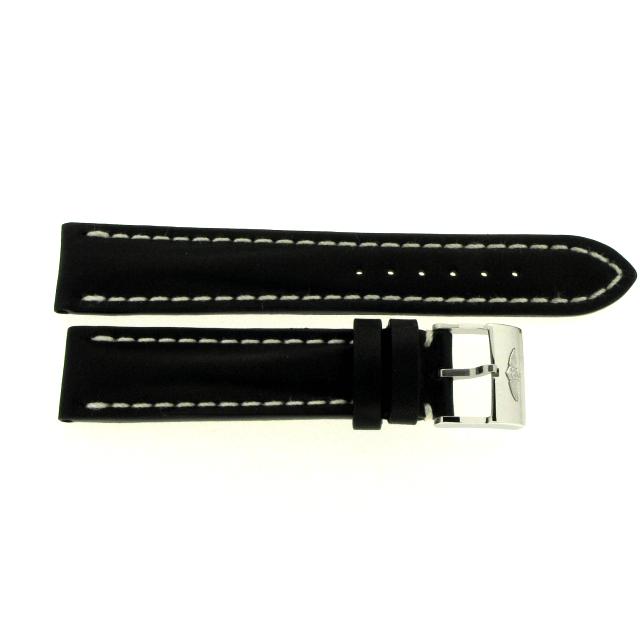 Breitling Kalbslederband schwarz 20 mm 428X/A18BA.1