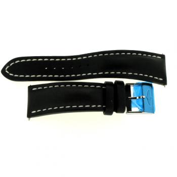 Breitling Kalbslederband schwarz 24 mm 441X/A20BA.1