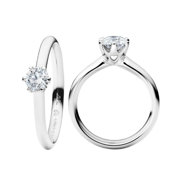 Capolavoro Ring Diamante in Amore 0,20ct