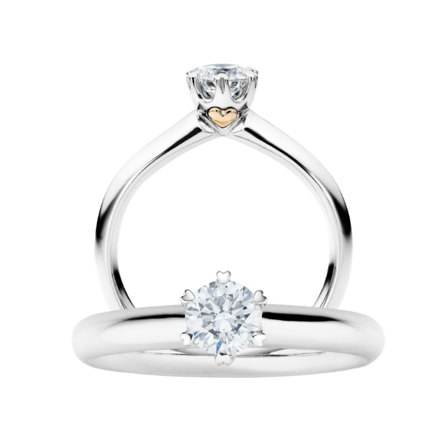 Capolavoro Ring True Love 0,50ct