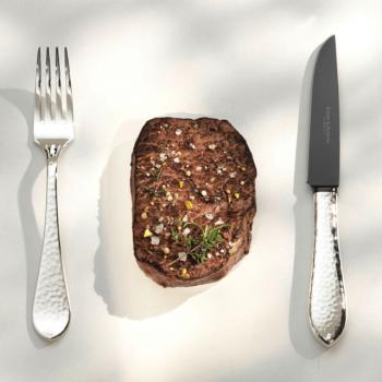 Robbe und Berking Steakbesteck Martelé