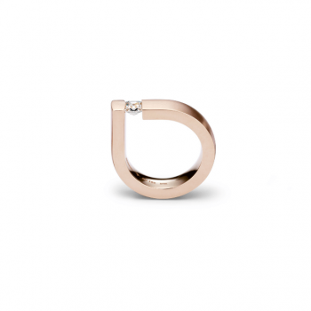 Niessing Spannring Bauhaus Princess Cut